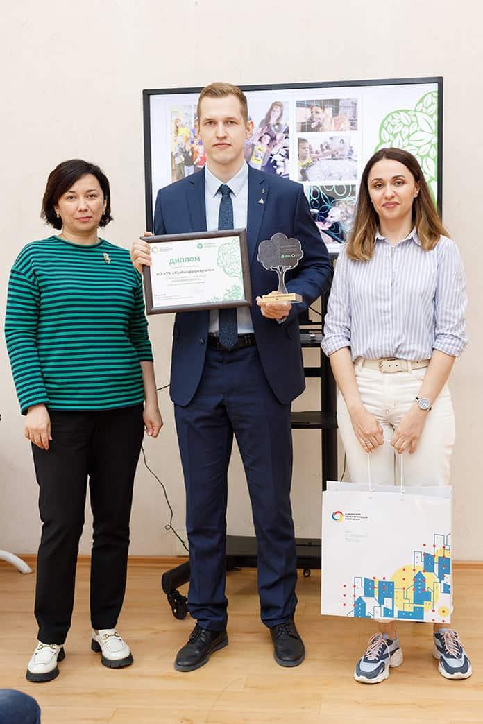 АО «УК «Кузбассразрезуголь» во второй раз стало победителем экологической акции «Бумажный бум 42»